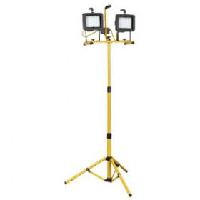 LED Double 40w Tripod Floodlight 110v
