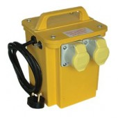 Portable Transformer With 2 Output Sockets 3.3 KVA