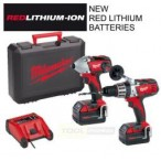 Milwaukee M18 PP2A-402C Twin Pack c/w 2 x 4.0ah Li-ion Batteries