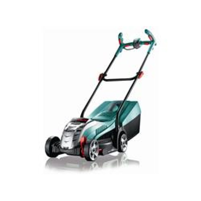 bosch rotak 34 li ergoflex 36v battey cordless lawn mower ex demo used once end of season sale price. Black Bedroom Furniture Sets. Home Design Ideas