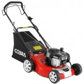 "Cobra 18"" PETROL LAWNMOWER COM46SPB PROMO PRICE"