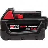Milwaukee M18 4.0ah Li-ion Battery