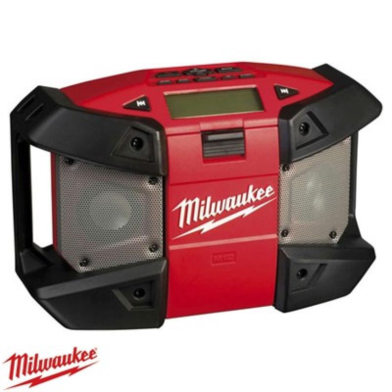 milwaukee c12 jsr 0 12v cordless compact jobsite radio. Black Bedroom Furniture Sets. Home Design Ideas