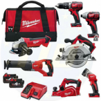 Milwaukee M18BPP7A-402B 7 Piece M18 Compact Power Pack ONE ONLY LEFT AT OFFER PRICE